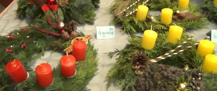 Zahvala za sodelovanje na božično-novoletnem sejmu