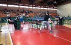 Četrfinale državnega prvenstva v namiznem tenisu.