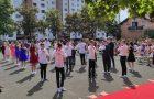 Fotografije in video posnetek valete devetošolcev