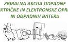 Zbiralna akcija odpadne električne in elektronske opreme
